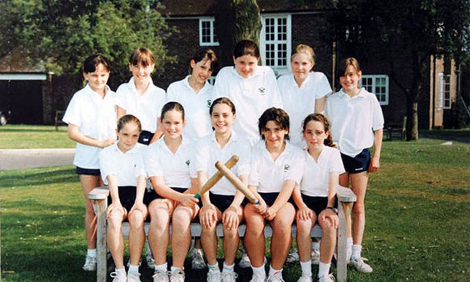 Popular at school, Kate was allegedly known as the 'Princess-in-waiting' by her fellow Marlborough College pupils.