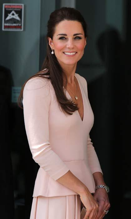 Born Catherine Elizabeth Middleton, the Duchess is widely known as Kate. 