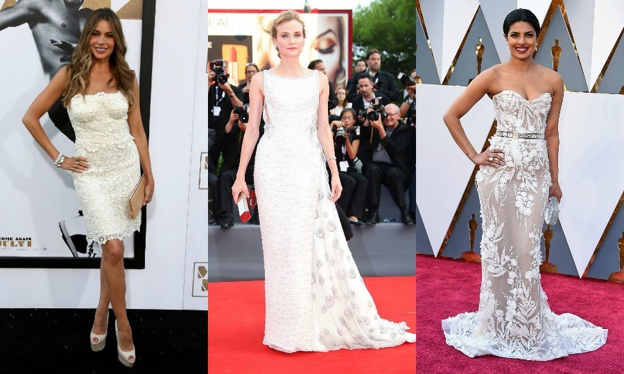 Cue the wedding bells! We're taking a look at unintentionally perfect bridal moments brought to you by the stars. From the red carpet to the aisle, these celebrity looks are perfect for any bride searching for gown inspiration.