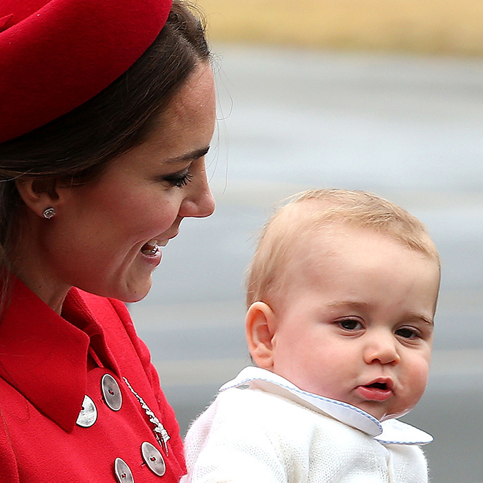 The Duchess of Cambridge was delighted to have Prince George along for the ride when she and Prince William completed a three-week tour of Australia and New Zealand in 2013.