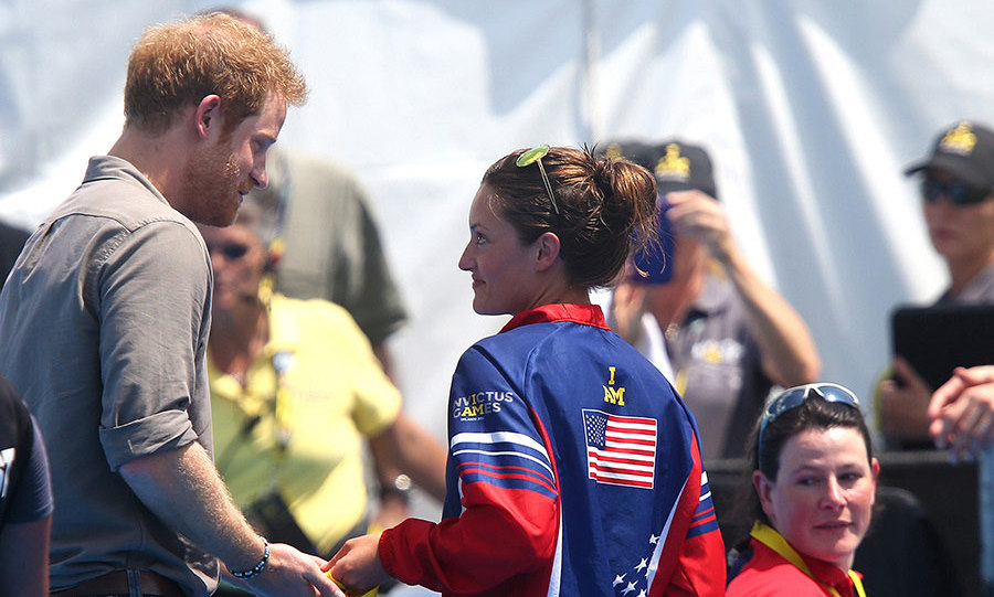 Elizabeth had asked Harry to donate the medal to the medical team who had treated her when she fell ill with a serious lung condition in 2014.
