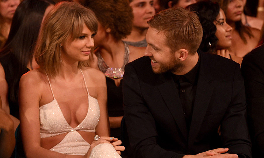 Their first high profile appearance together came just a few weeks later at the Billboard Music Awards. Taylor and Calvin cemented their status as music's hottest new couple by sharing a number of affectionate moments throughout the awards ceremony, and couldn't appear to take their eyes off each other as they sat side-by-side.