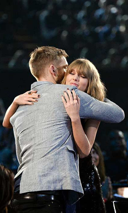 Taylor had one person in particular to thank as she was honoured at the iHeartRadio music awards in April; her boyfriend Calvin. The 26-year-old praised the DJ as she accepted the award for Best Tour.