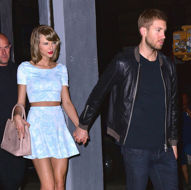 "A number of loved-up date nights followed, and friends noted how happy Taylor appeared with her new man. Calvin even won the seal of approval of Taylor's close friend Ed Sheeran, who described the DJ as a ""really really nice guy.""