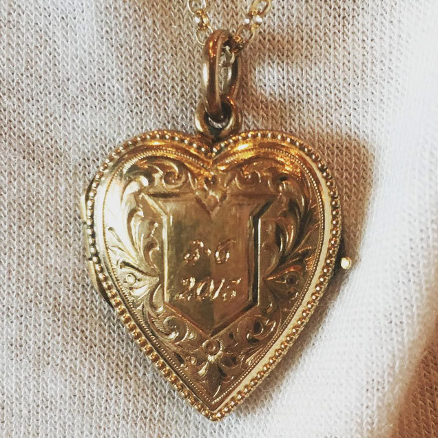 "March marked Taylor and Calvin's first anniversary, and they celebrated in style. As well as sharing a photo of their homemade ""one year cake"", Taylor revealed that Calvin had bought her a beautiful gold heart shaped locket engraved with their anniversary date.