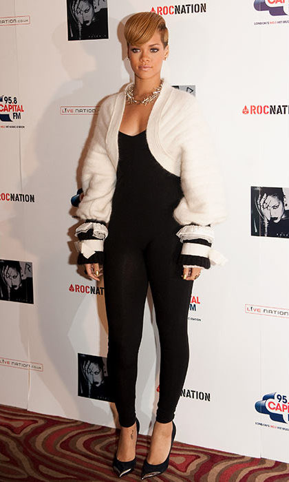 At the launch of her fourth album <em>Rated R</em>, Rihanna debuted a much edgier look. 