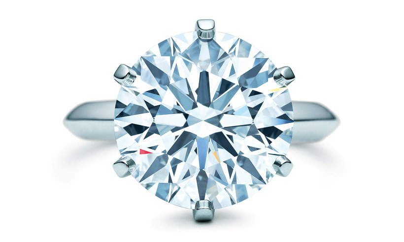 "<strong>The Tiffany Setting Diamond solitaire</strong>, from $18,000, <a href=""http://tiffany.ca"" target=""_blank"">tiffany.ca</a>"