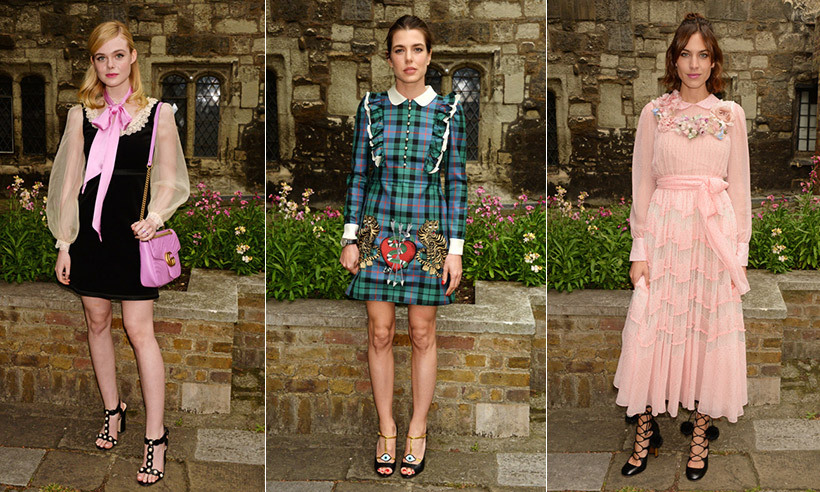 In its 1,000-year history, Westminster Abbey has seen its fair share of royal weddings and special occasions celebrated within its walls. Now, the famous church can add fashion show to its storied history of events. 