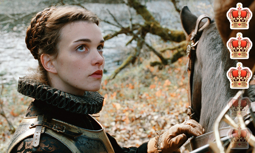 <strong>Movie</strong>: <em>Mary Queen of Scots</em>