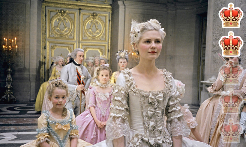 <strong>Movie</strong>: <em>Marie Antoinette</em>