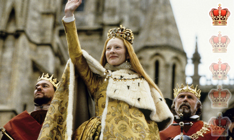 <strong>Movie</strong>: <em>Elizabeth</em>