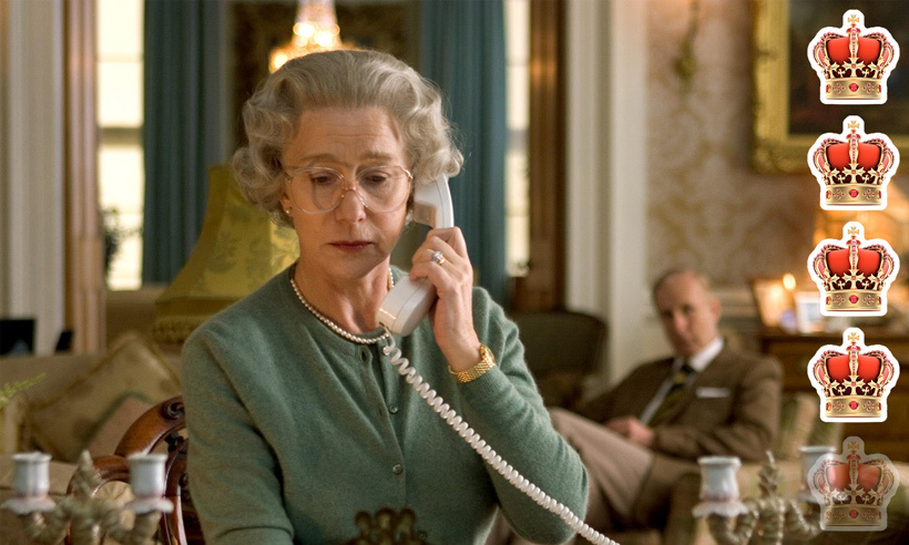 <strong>Movie</strong>: <em>The Queen</em>