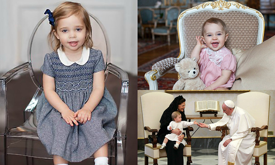 From engagements with mom to official portraits and her very first engagement, Princess Leonore of Sweden has stolen her way into our hearts. The adorable royal has been the apple of her parents' eye and one to watch since her birth on February 20, 2014. Here is a look at some of the young princess's most adorable moments.