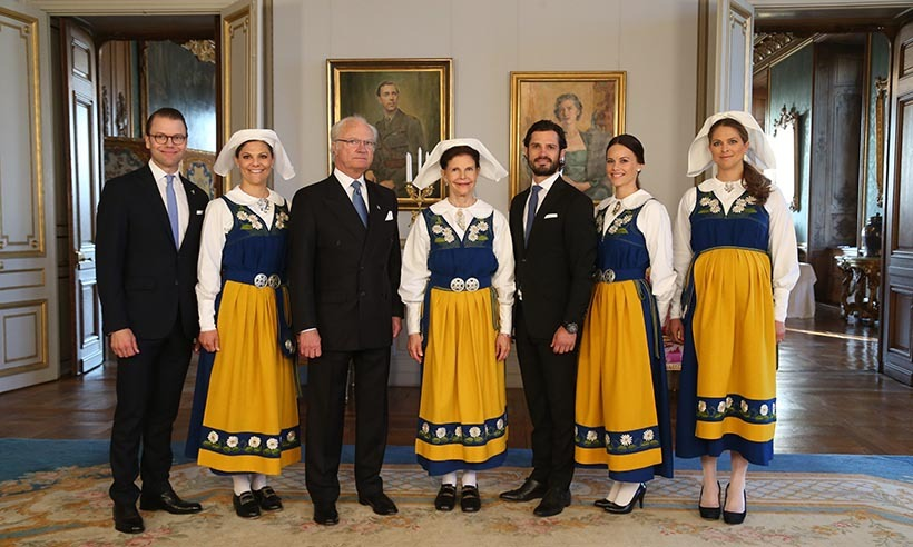 Since 1983, the Swedish Royal Family have led National Day celebrations on June 6. King Carl XVI Gustaf and Queen Silvia are joined by their children and grand-children for a day of joyous celebration and pomp and pageantry. 