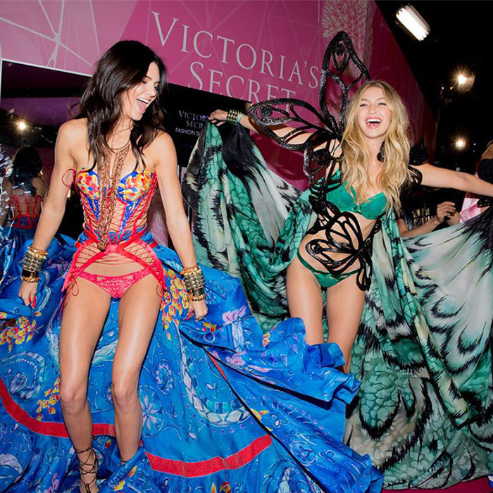 <h2>Kendall Jenner + Gigi Hadid</h2>