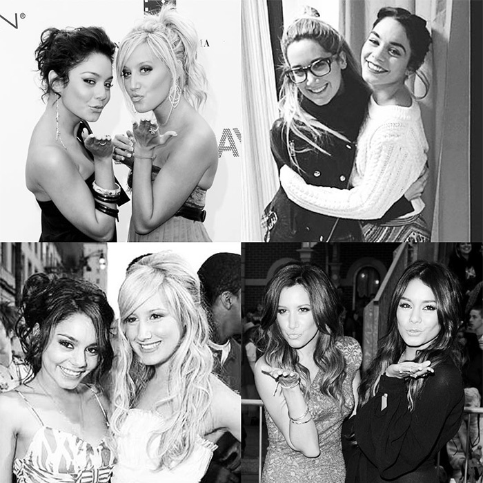 <h2>Ashley Tisdale + Vanessa Hudgens</h2>