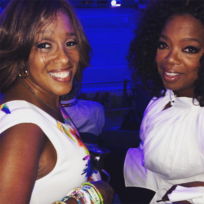 <h2>Oprah Winfrey + Gayle King</h2>