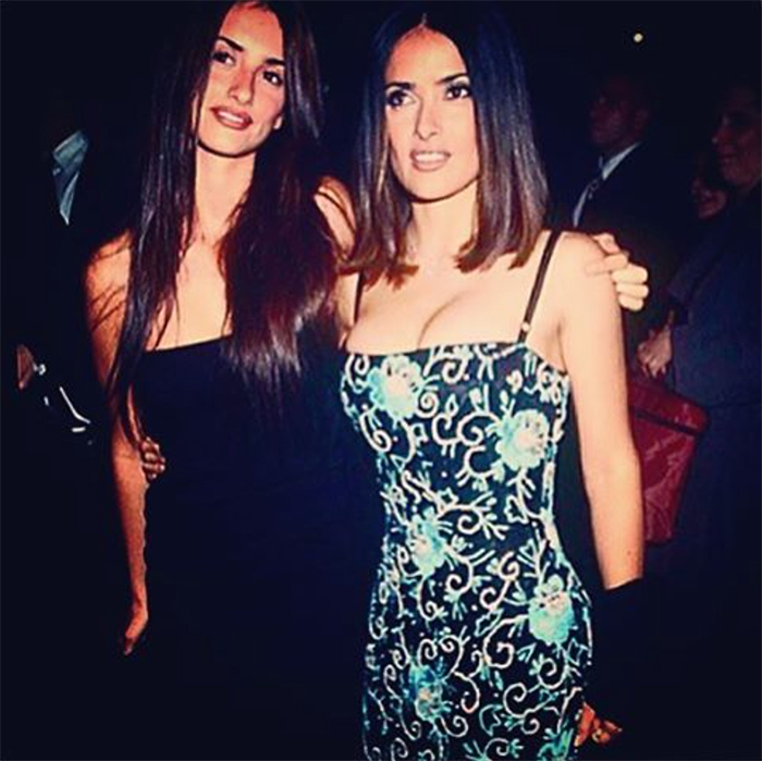 <h2>Salma Hayek + Penelope Cruz</h2>