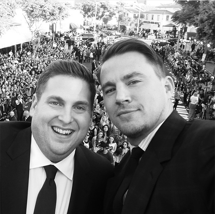 <h2>Channing Tatum + Jonah Hill</h2>