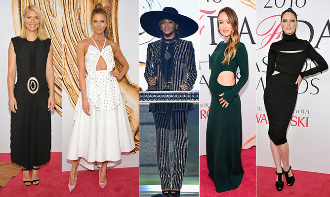 One of fashion's biggest nights saw an impeccably clad mix of designers, industry heavyweights and Hollywood stars join forces to honour the cream of the sartorial crop at the CFDA Fashion Awards.<br> 