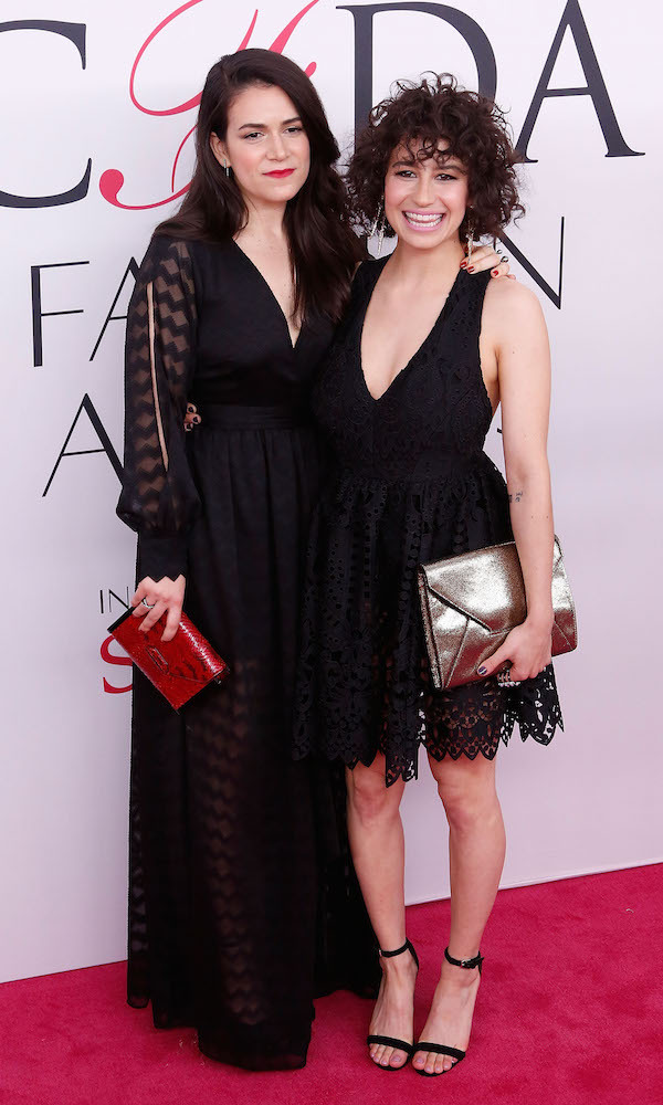 Abbi Jacobson and Ilana Glazier