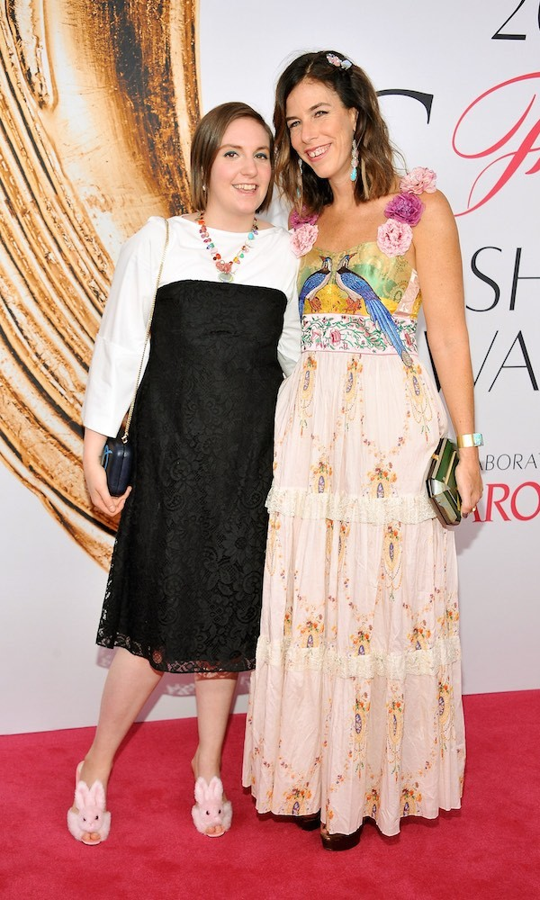 Lena Dunham and Irene Neuwirth
