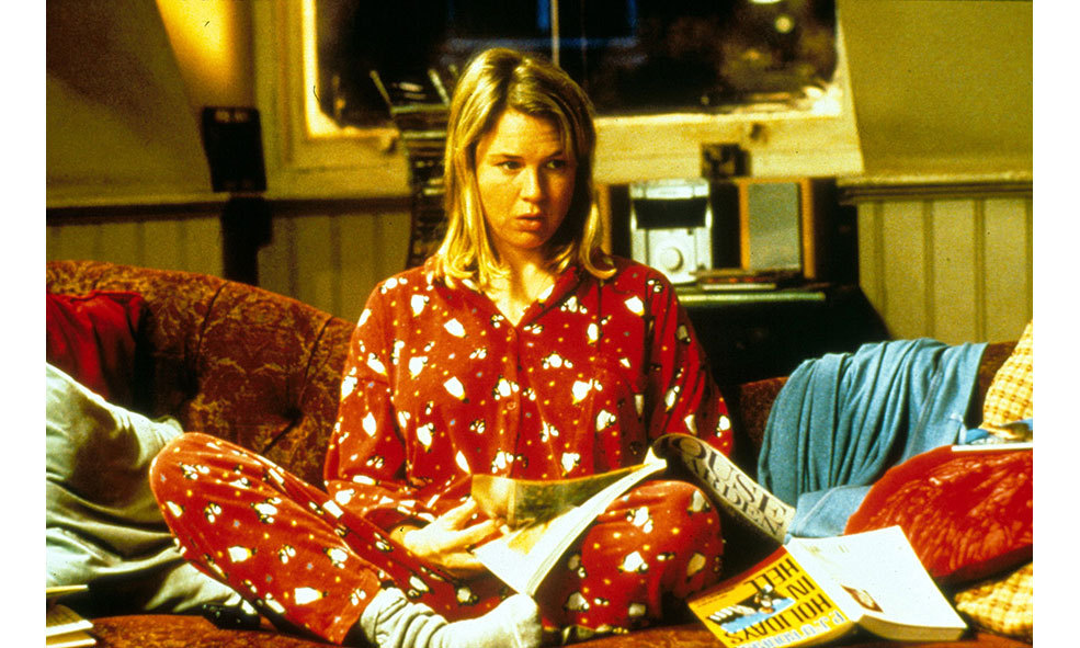 The actress is reprising her role as Bridget Jones. 