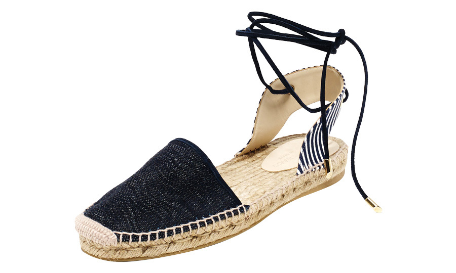 "<strong>Vonna Espadrille</strong>, $198, <a href=""http://clubmonaco.ca"" target=""_blank"">clubmonaco.ca</a>"