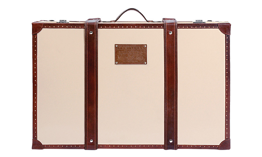 "<strong>Classic Large Blush Trunk</strong>, $525, <a href=""http://thelittlemarket.com"" target=""_blank"">thelittlemarket.com</a>"