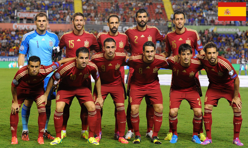 The 2016 UEFA Euro Spanish squad.
