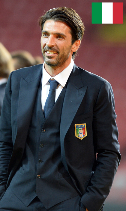 <h4>Gianluigi Buffon</h4>