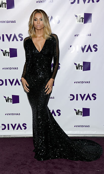 Ciara in Pamella Rowland, VH1 Divas 2012.