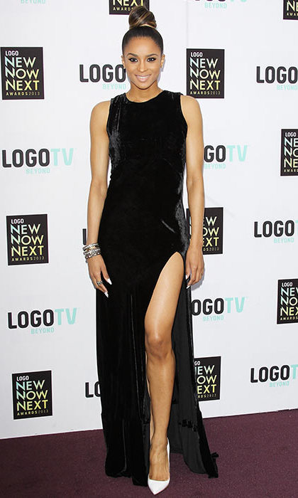 Ciara in Olcay Gulsen, NewNowNext Awards 2013.