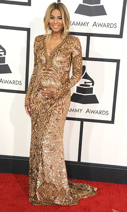 Ciara in Gucci, Grammy Awards 2014.