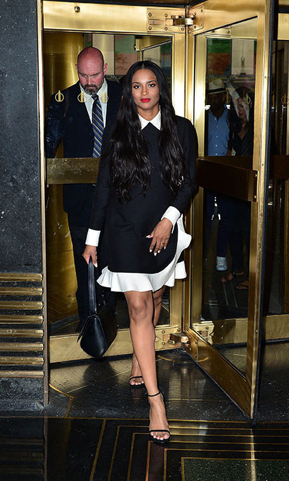 Ciara in Valentino, New York City 2014.