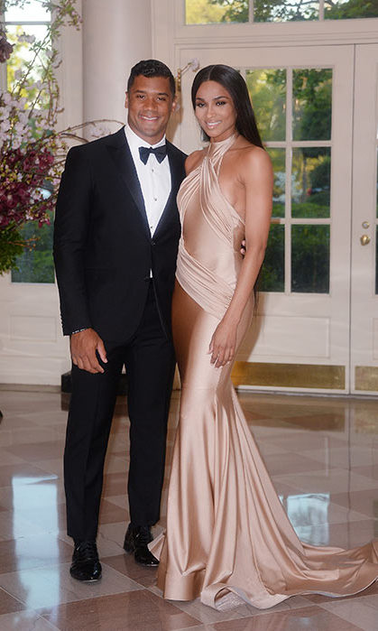 Ciara in Walter Mendez, White House 2015.