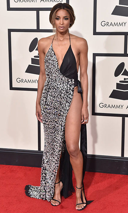 Ciara in Alexandre Vauthier, Grammy Awards 2016.