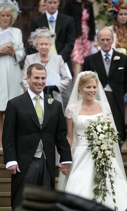 Autumn married Peter Phillips in 2008. 
