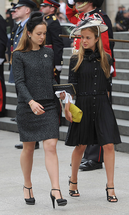 Amelia Was Joined By Her Sister Lady Marina Windsor