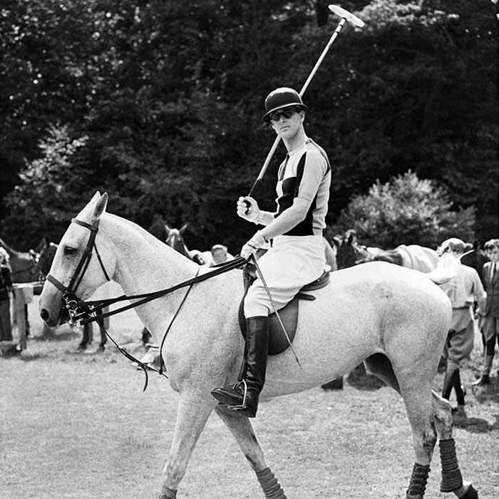 Philip was a prince of the polo field for many years before handing in his reins in the 1970s. He shares his love for the sport with his son Prince Charles and grandsons Prince William and Prince Harry. 