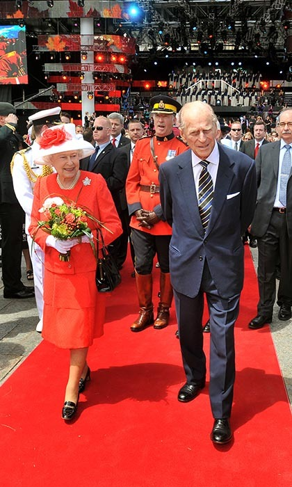 Canada holds a very special place in the duke's heart. His passion for the country dates back to 1951 when he made his first visit to the Great White North with his wife and future queen Princess Elizabeth. Since then, he has travelled the country many times over. 