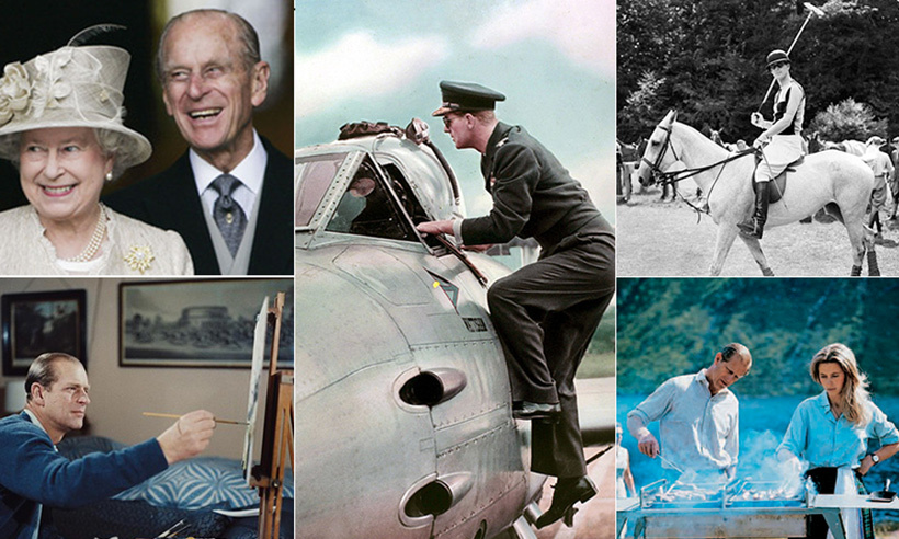 From carriage driving to polo to cook outs with his family, Prince Philip's leisure time is always jam-packed with activities. 