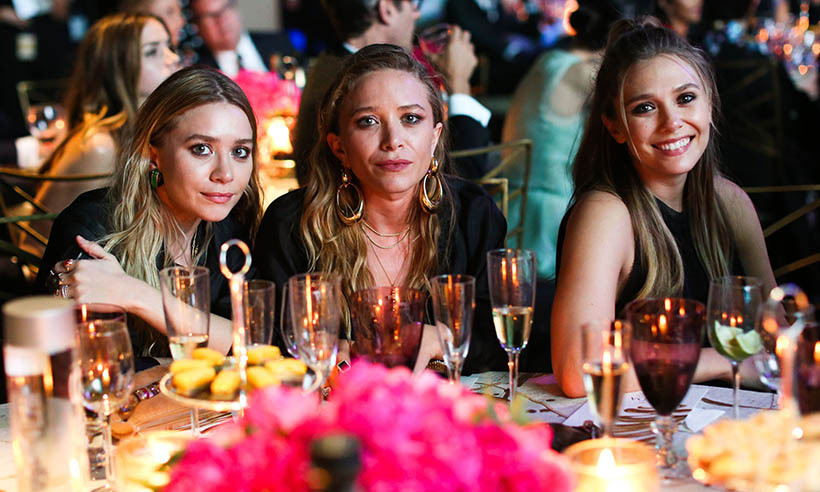 The CFDAs were a family affair for the Olsen sisters; From left: Ashley, Mary-Kate and Elizabeth.