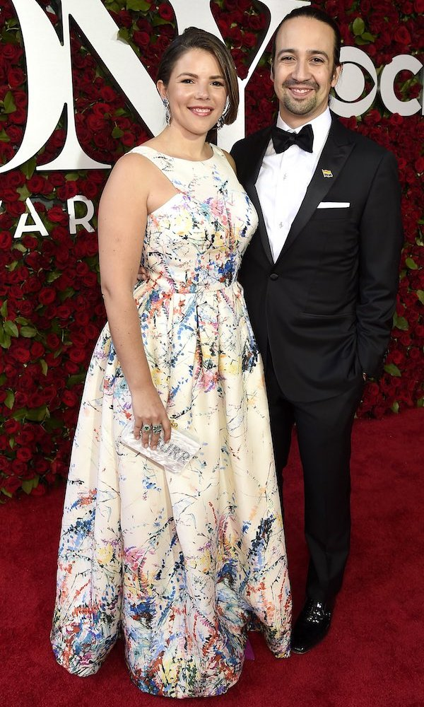 Lin-Manuel Miranda and Vanessa Nadal