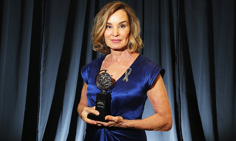 Hollywood icon Jessica Lange added a Tony award to her impressive trophy collection in 2016. The actress won Best Actress honours for <i>Long Day's Journey Into Night</i>. Jessica's trophy tally now stands at: two Oscars, five Golden Globes and three Emmys. 