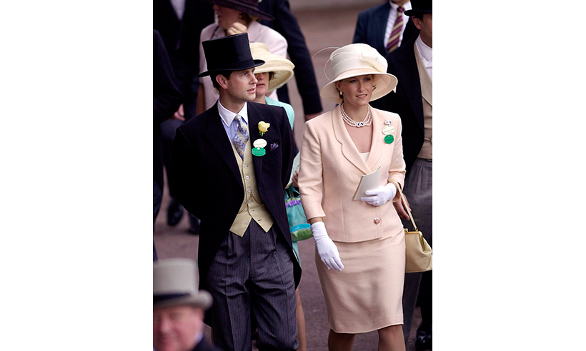 Prince Edward and his wife Sophie have attended several Ascot events since their wedding in 1999. 