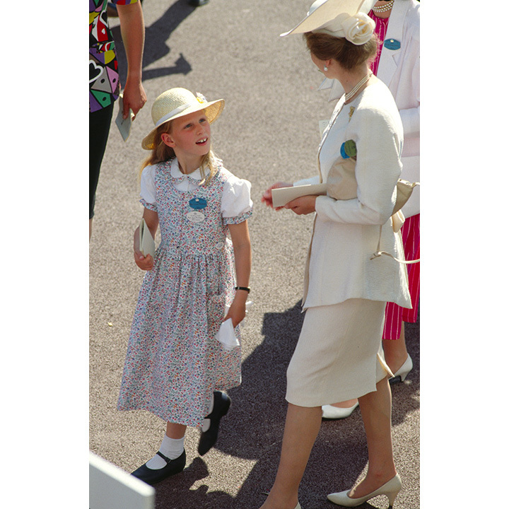 Ascot rules state that children under the age of 16 are not permitted, but an exception was made in 1989 for Princess Anne's daughter Zara Phillips. The eight-year-old was allowed to attend after receiving permission from her grandmother, the Queen. 