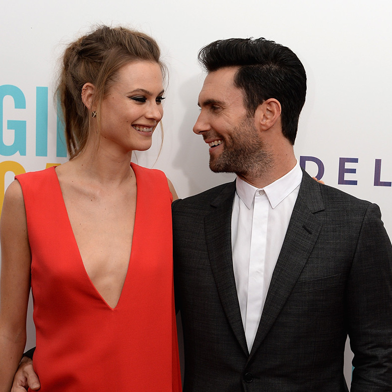 Adam and Behati have been married since July 2014.
