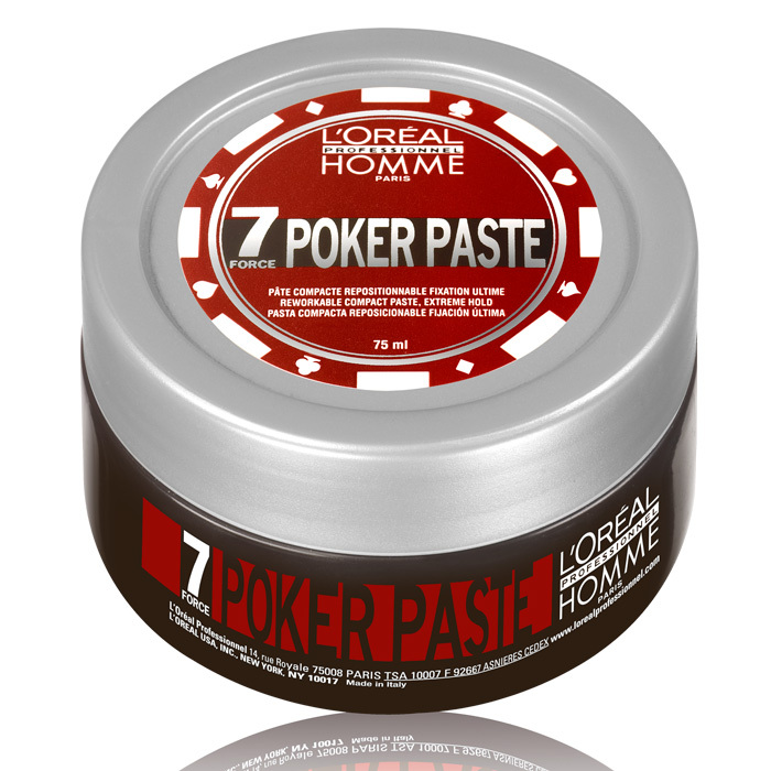 "<strong>L'Oréal Professionnel Poker Paste</strong>, $18, <a href=""http://lorealprofessionnel.ca"" target=""_blank"">lorealprofessionnel.ca</a>"