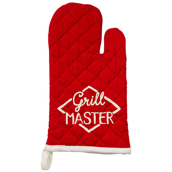 "<strong>Grill Master Oven Mitt</strong>, $12, <a href=""http://chapters-indigo.ca"" target=""_blank"">chapters-indigo.ca</a>"
